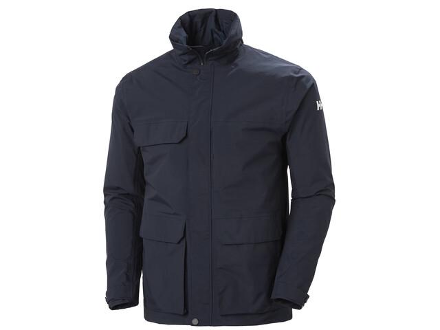 Helly Hansen Utility Rain Jacket Men navy